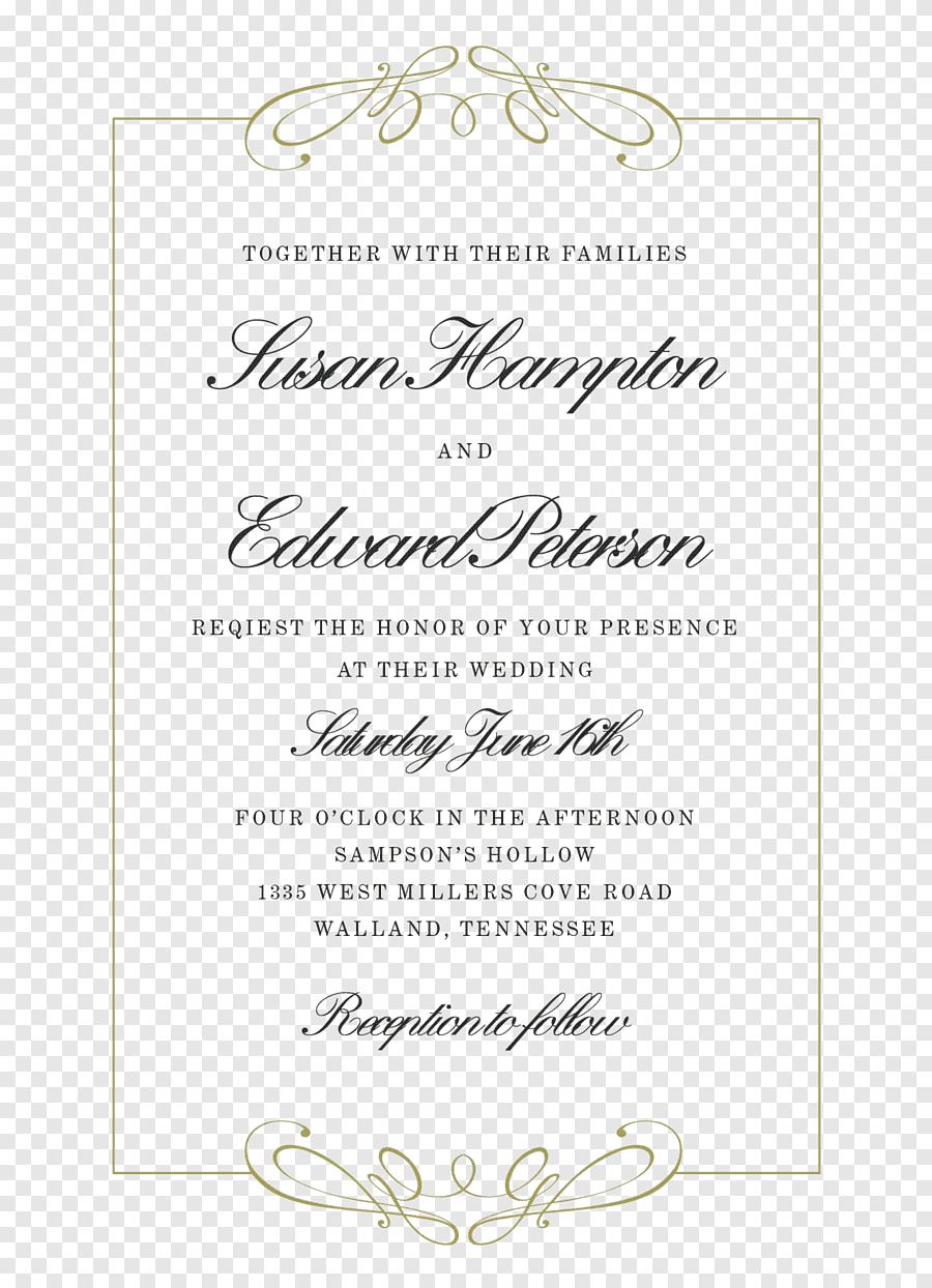 Tulisan The Wedding Png : tulisan, wedding, Wedding, Invitation, Convite, Calligraphy,, Vintage, Style, Invitation,, Text,, PNGEgg