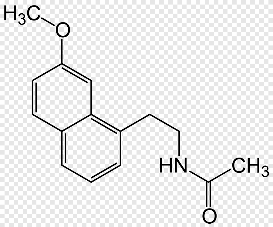 Melatonin Chemical structure Hormone Chemical compound