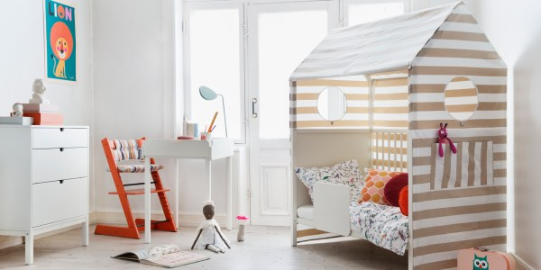 Crib into Toddler Bed Room