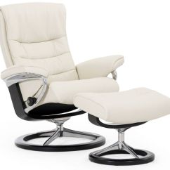 Stressless Chair Sale Padded High Nordic And Ottoman Signature Base The