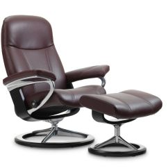 Best Chairs Inc Recliner Reviews Lounge Pool Stressless Consul Chair And Ottoman Signature Base The