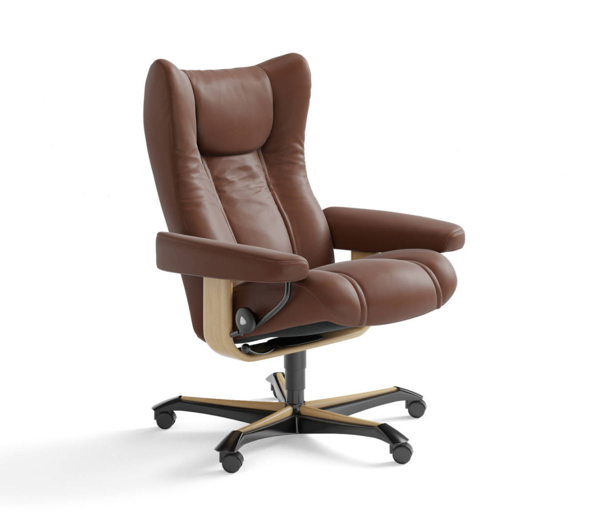 Stressless Office Chair Stressless Wing Office Chair The Century House Madison Wi