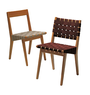 Risom Side Chair with Webbed Back by Knoll  The Century