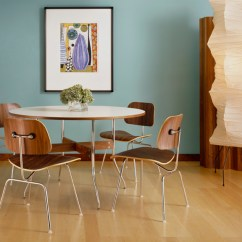 Eames Molded Side Chair Solid Oak Dining Chairs Hermanmiller Plywood Metal Legs The 1