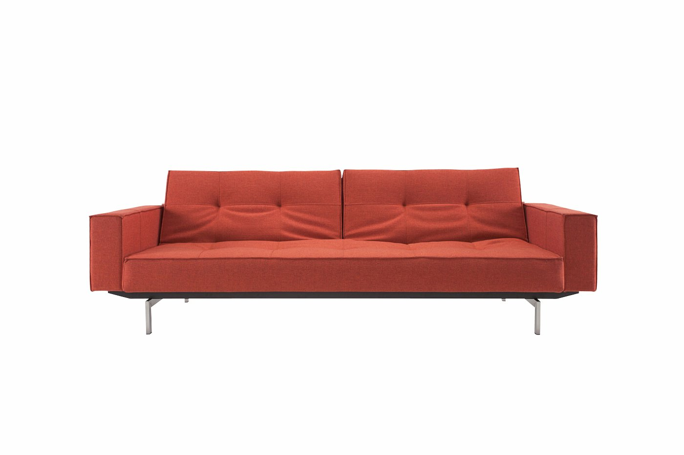 how to clean fabric sofa arms bed and loveseat combo splitback with stainless steel legs the