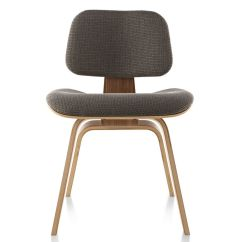 Eames Leather Chair Dining Rocking Chairs For Porch Hermanmiller Upholstered Molded Plywood