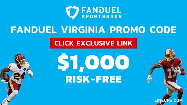 FanDuel Virginia Promo Large $1,000 Risk-Free Bet