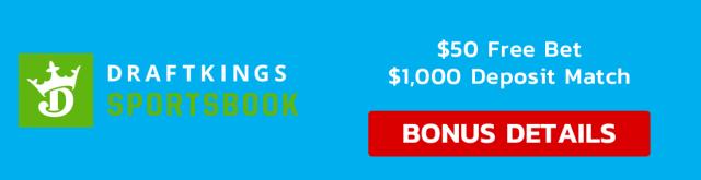 DraftKings Banner Bonus details $1,050 promo
