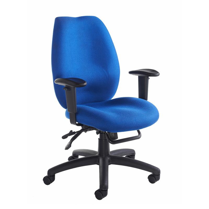 best office chair after spinal fusion patio cover cornwall multi functional operator blue