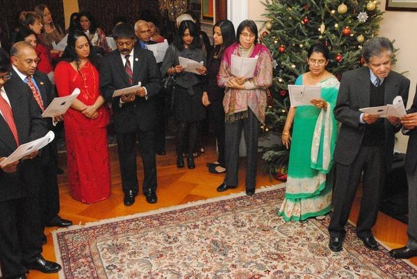 Sri Lanka Embassy Washington DC Christmas Celebration 2013
