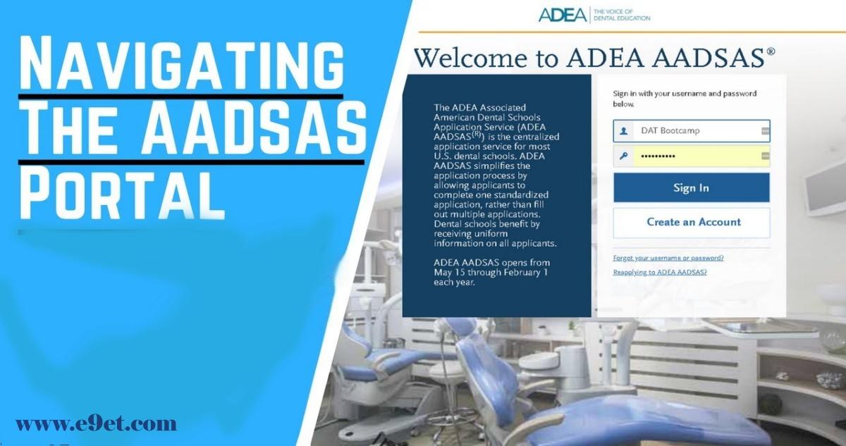 ADEA AADSAS Login