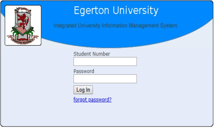 Egerton University Students Portal Login