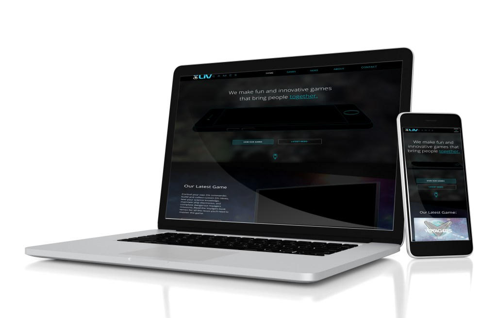 liv games website final