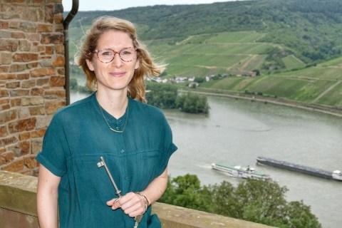 Burgenbloggerin Mareike Knevels. (Foto: EA)