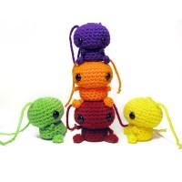 Skittles Amigurumi - Free Pattern