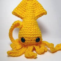 the Sad Cephalopod - pattern now available!