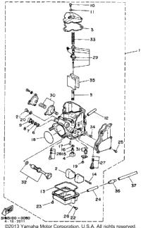 Yamaha Moto 4 Carburetor Adjustment also Yamaha 350 1988 Wiring Diagram further Yamaha Xt225 Carburetor Diagram moreover 1996 Yamaha Tdm850 Wiring Diagram And Electrical System further Yamaha Moto 4 350 Wiring Diagram. on wiring diagram yamaha wolverine