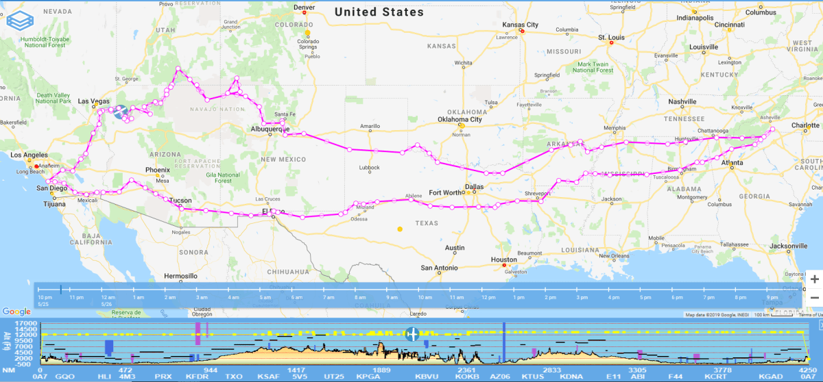 Mission: Fly Across America #1 – Day 1