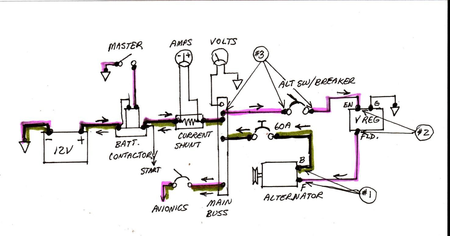 house master switch wiring diagram 6 volt to 12 conversion cessna 35