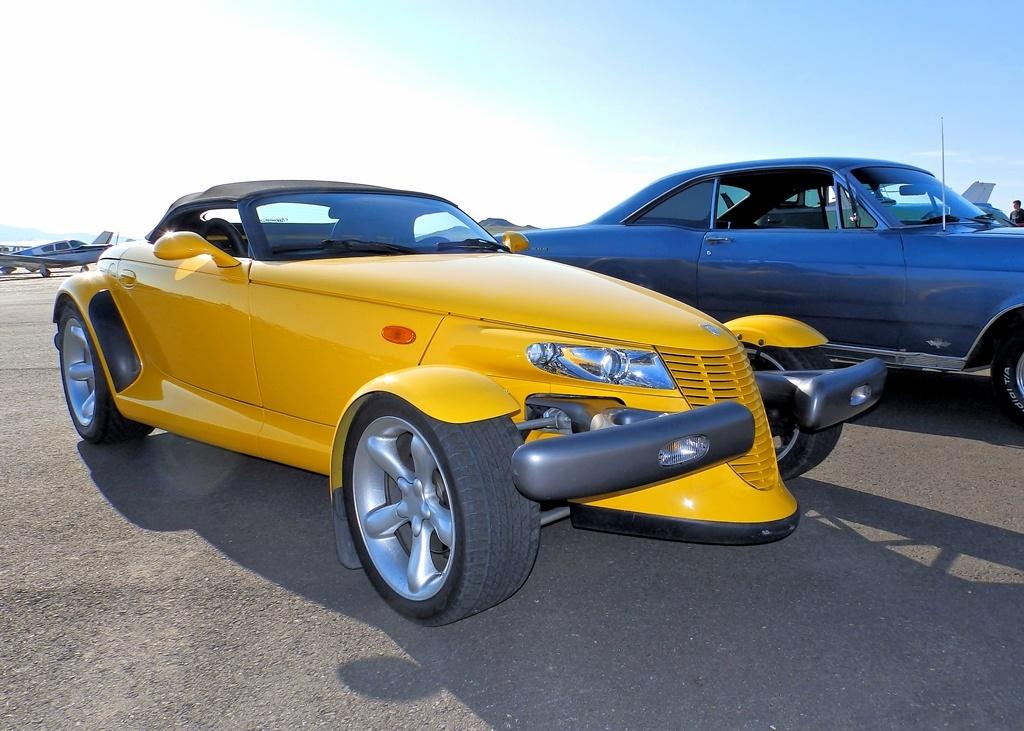 Yellow Sportscar