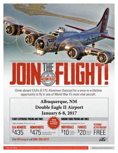 B-17 Aluminum Overcast Flights