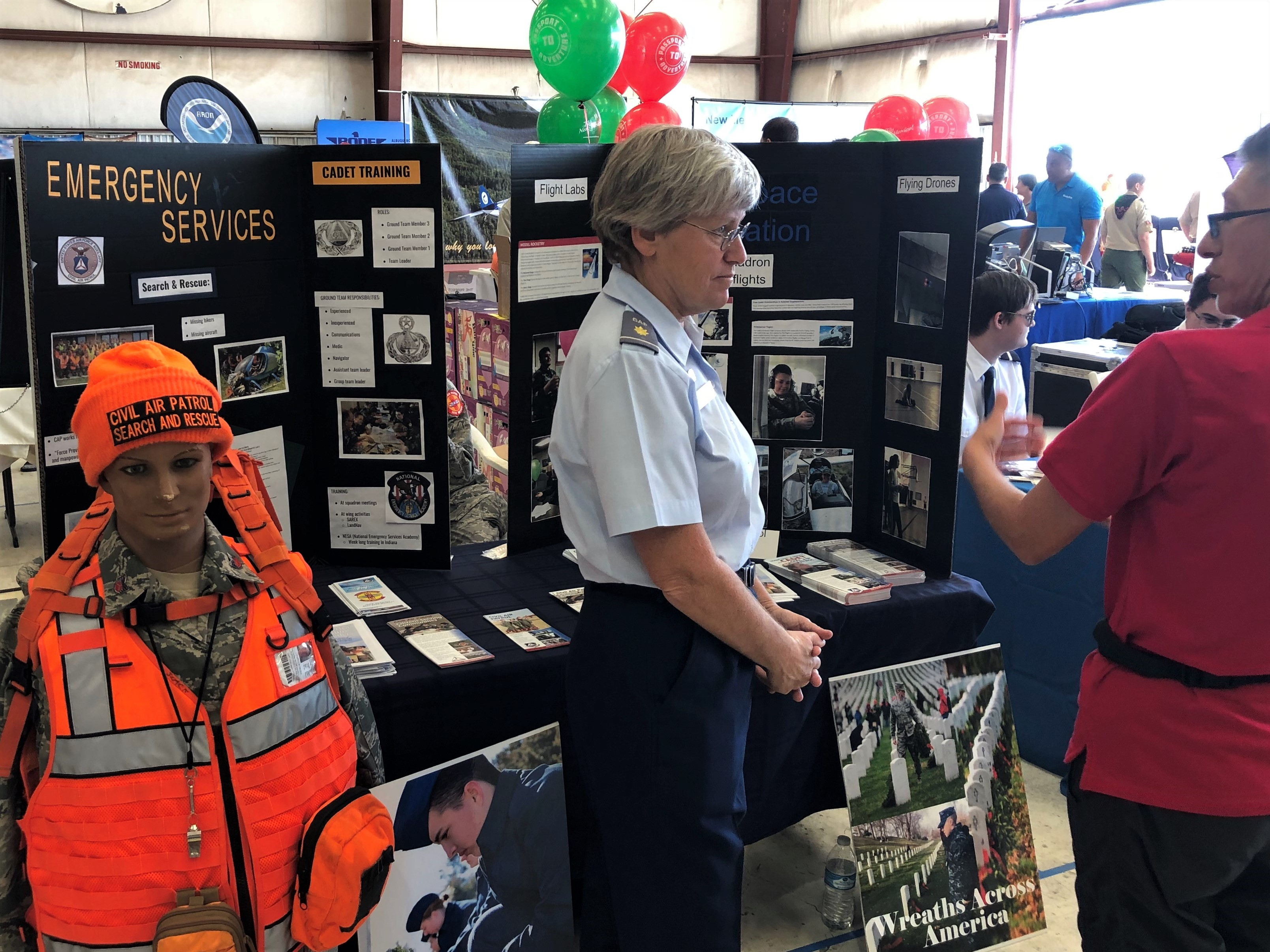 Civil Air Patrol Booth