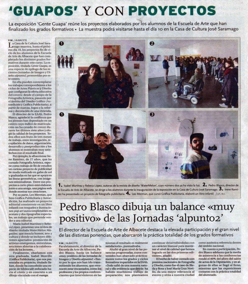 2014-04-01 - La Tribuna - Clausura Alpunto2 (1)