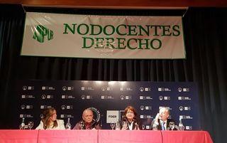 LA DIRECTORA DE LA ESCUELA PARTICIPÓ DEL HOMENAJE A APUR EN LA FACULTAD DE DERECHO DE LA UNR