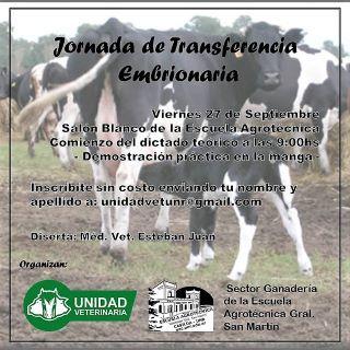JORNADA DE TRANSFERENCIA EMBRIONARIA