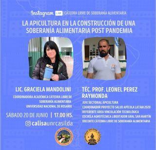 CÁTEDRA LIBRE DE SOBERANÍA ALIMENTARIA: SEXTO ENCUENTRO, 20 DE JUNIO.