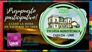 PRESUPUESTOS PARTICIPATIVOS ESCUELA AGROTÉCNICA
