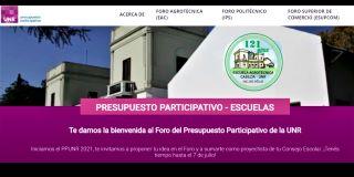 PRESUPUESTO PARTICIPATIVO 2021 UNR - #AGROCASILDA