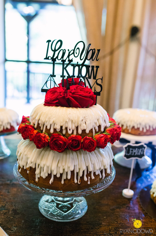 Not Only Is This Cake Topper Wonderfully Nerdy But The Bundt Cakes