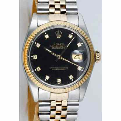 rolex-datejust-gold-steel-black-prong-diamond-dial-16013-holes-jubilee-watch-chest-g