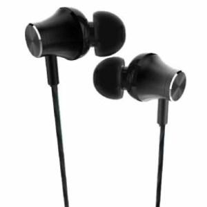 Ecouteurs originale Konfulon INA7 In-Ear Métalliques Casque Stéréo Heavy Bass Son - Noir