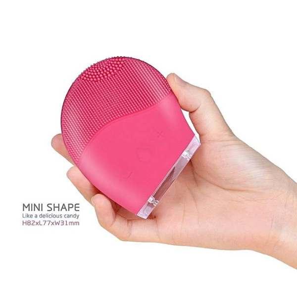 KEMEI Brosse Nettoyante Masseur pour Visage vibrante pour tous types de peaux convient aux peaux sensibles-Appareil Anti-Rides, Anti-âge, Raffermissant Visage