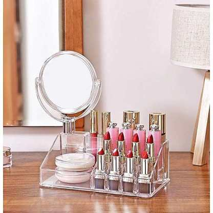 Pratique miroir design – avec boîte de rangement3
