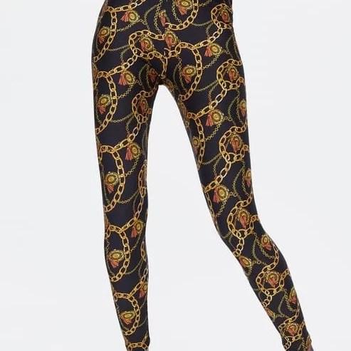 Legging Imprimer Chanel Maroc zara