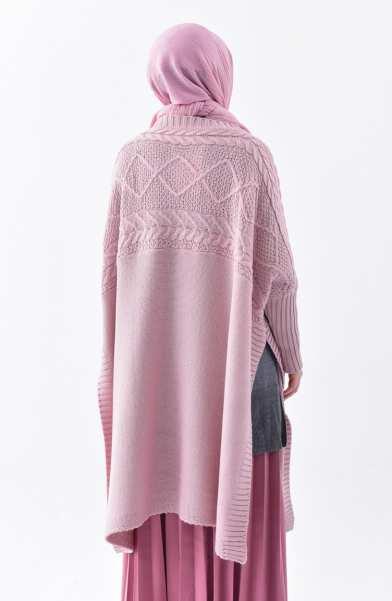 Tunique Pull longue en maille Tricot Disponible en plusieurs couleurs Taille Standard couleur rose