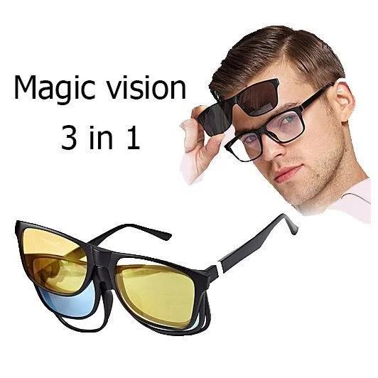 lunette 3 en 1 magic vision solaire maroc