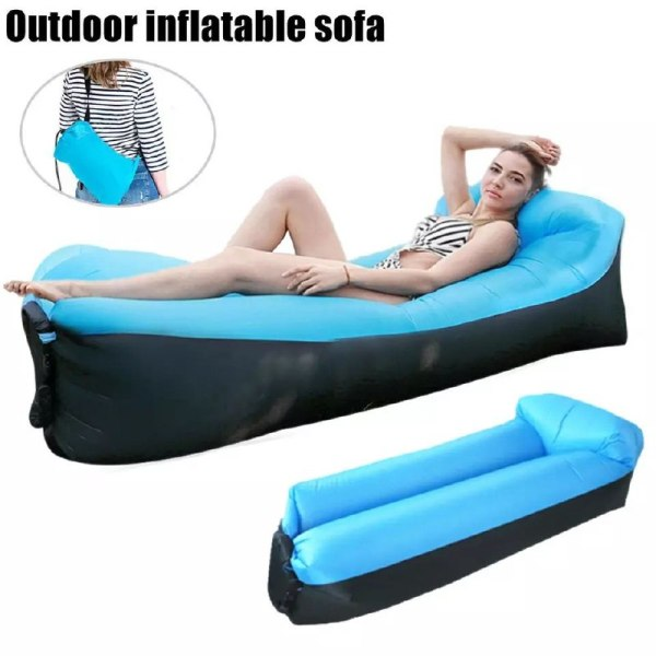 db7ad5b6 1225 485d b85a 699455a423c6 - Canapé Relax Gonflable avec Sac de Rangement pour Camping Piscine Plage Jardin