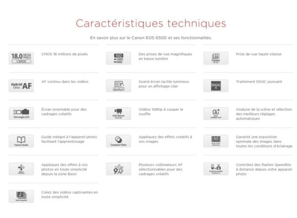 EOS Canon 650D Maroc Casablanca Bonne Occasion