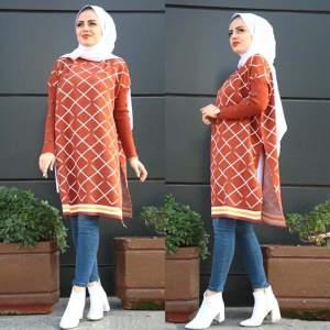 Cape Trikot Long Orange - كاب تركي كابات عالية الجودة وبألوان زاهية تناسب جميع الأذواق maroc hijab solde