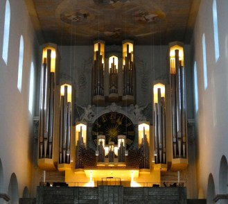 Organ in the Cathedral of St. Kilian