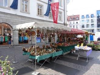 Booth selling Lebkuchen