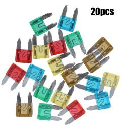 details about 7 5 to 30 car motorcycle mini fuses blade fuse safety 20pcs rs [ 1001 x 1001 Pixel ]