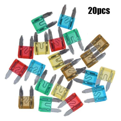 small resolution of details about 7 5 to 30 car motorcycle mini fuses blade fuse safety 20pcs rs