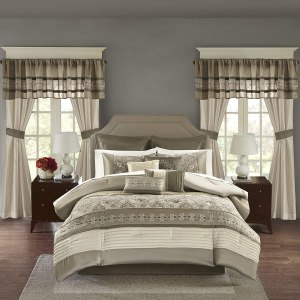 Astoria Grand Woodford Luxury 24 Piece Comforter Set