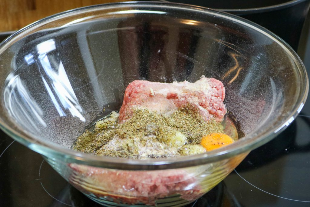 Mix Ingredients in Bowl