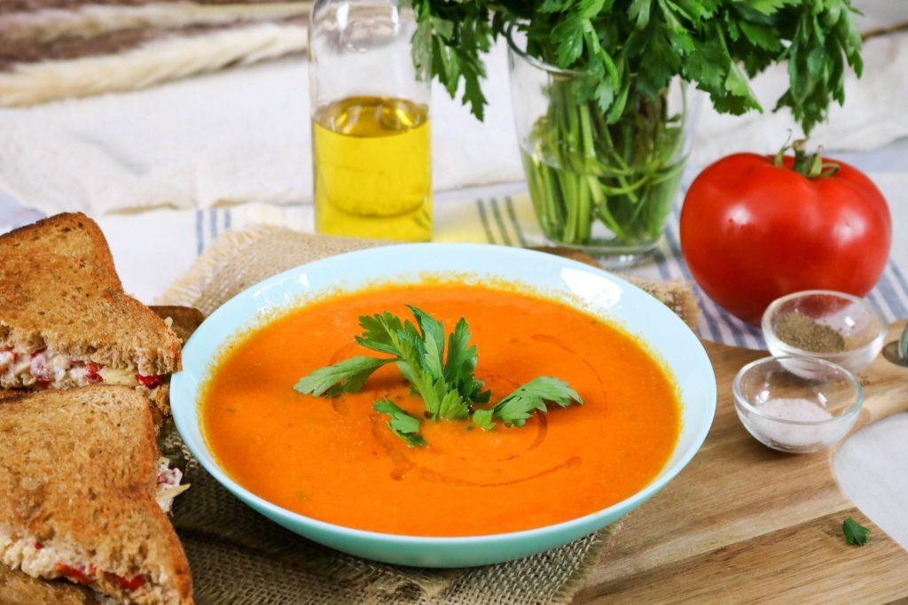 Serve Sandwich with Soup